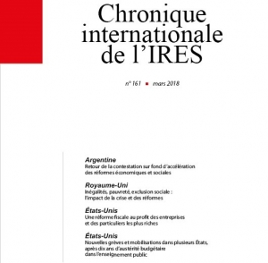 Parution de la Chronique Internationale de l'IRES N° 161