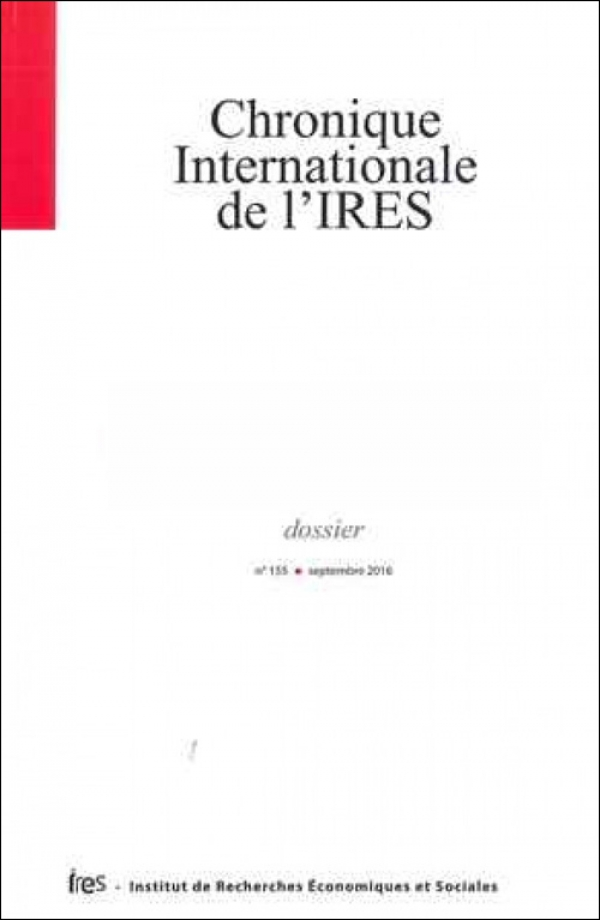 Prépublications de la Chronique internationale de l'IRES n°157
