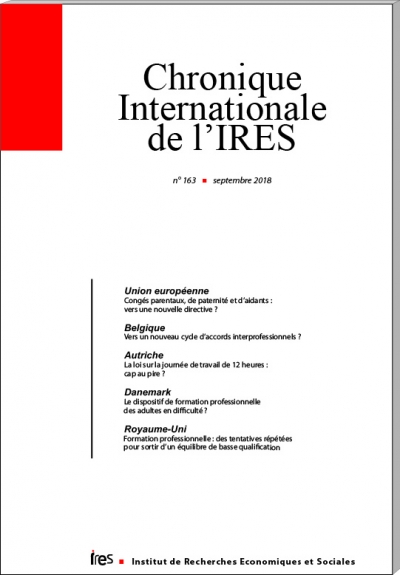 Parution de la Chronique Internationale de l'IRES N° 163