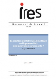 Document de travail : La création du National Living Wage au Royaume-Uni